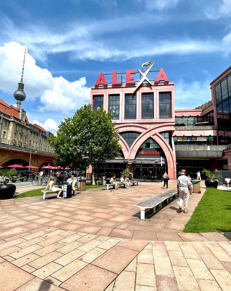 Pomodori Italiener im Alexa am Alexanderplatz Berlin